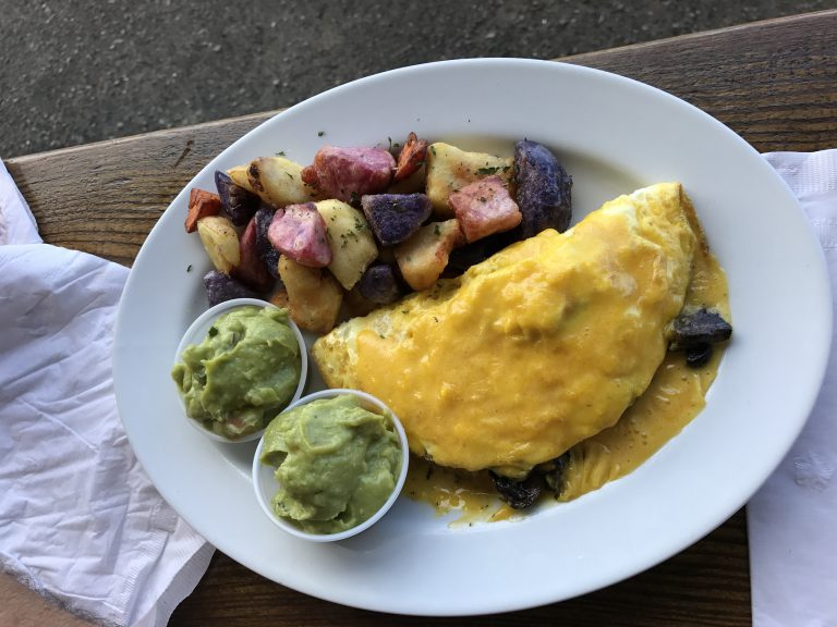 The Beach House - Breakfast Omelette